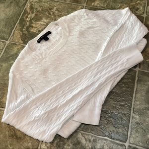 Brooks Brothers cotton cable-knit sweater